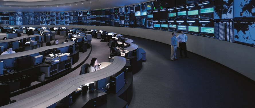 AT&T Global Network Operations Center.