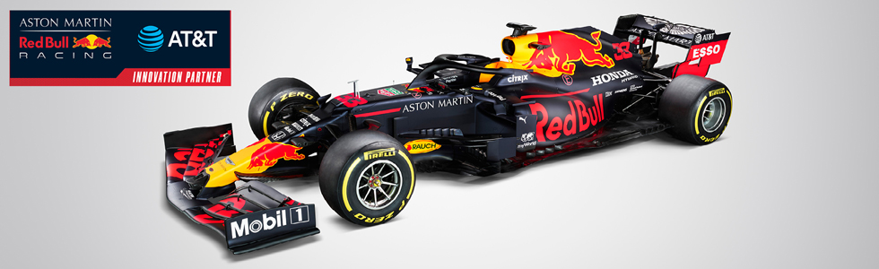 At T And Aston Martin Red Bull Racing Global Business